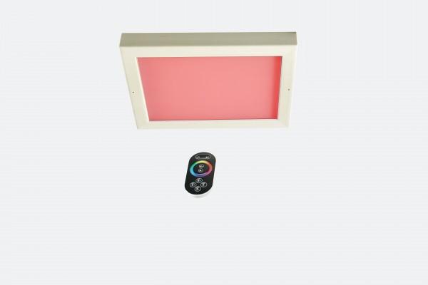 Infraworld LED-Farblicht Sion 4A Deckenmontage, Erle