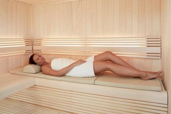 Infraworld Bankauflage für Sauna