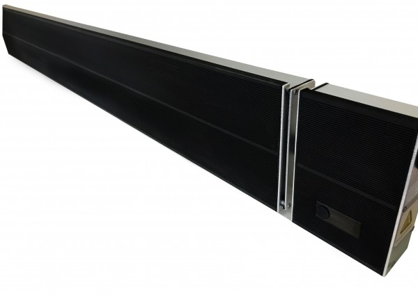 Herschel Summit R 2600W Black (remote Control) IR-SUMMIT-2600R