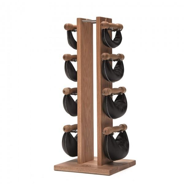 NOHrD Swing Tower Hantel Set (1,2,4,6 kg) Eiche