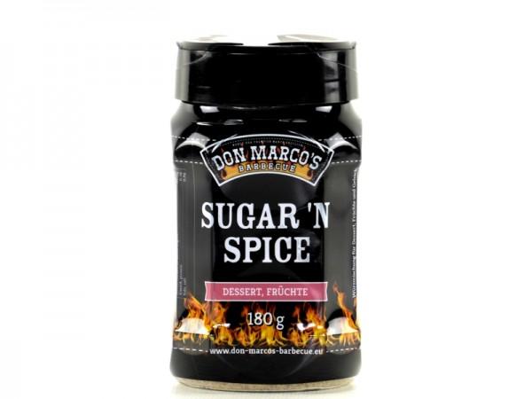 Don Marco`s Sugar n Spice Spice Blend 180gr