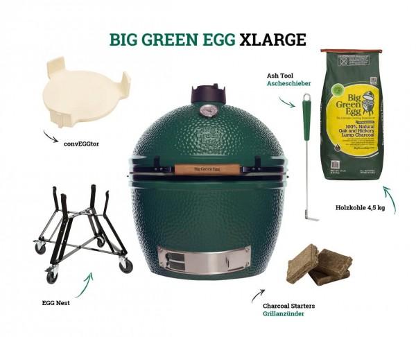 Big Green Egg Kamado XLarge Starter-Set