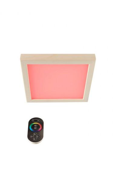 Infraworld LED-Farblicht Sion 1A Deckenmontage, Erle