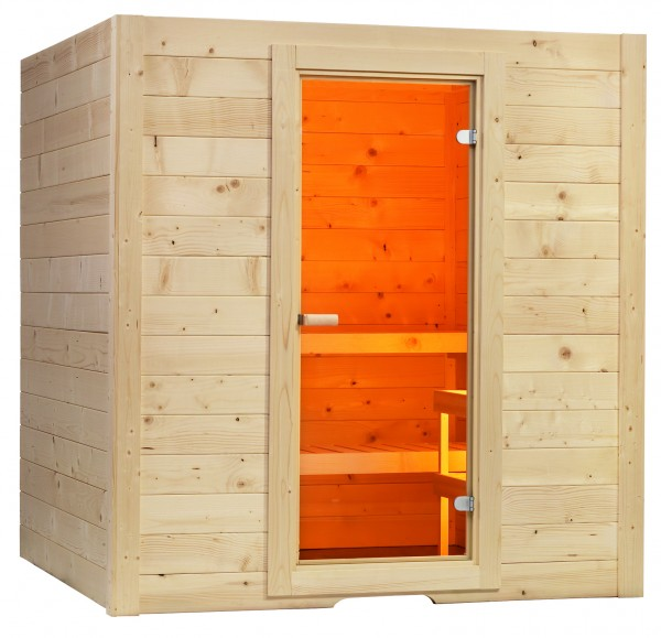 Sentiotec - Massivsauna Basic Massiv Medium - Nr.: 1-030-305