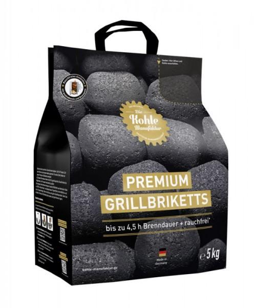 Die Kohle-Manufaktur Premium Grillbriketts 5 kg