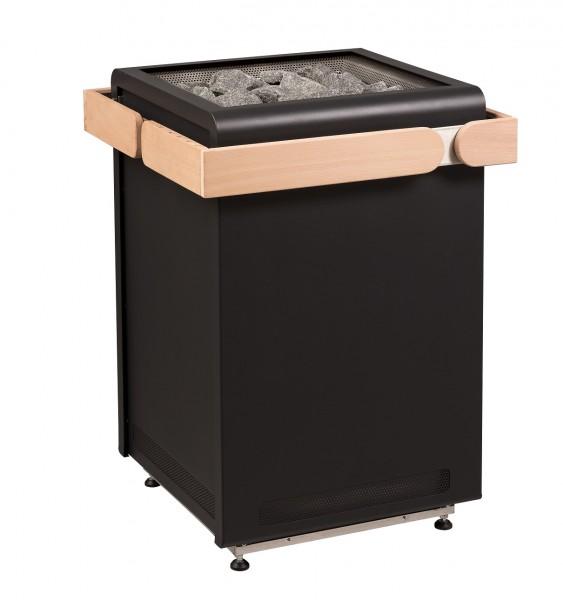 Sentiotec Saunaofen Concept R, black