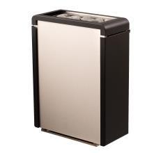 Sentiotec Saunaofen Concept R mini, Edelstahl