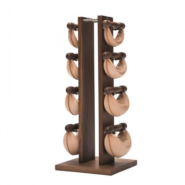 NOHrD Swing Tower Hantel Set (1,2,4,6 kg) Nussbaum