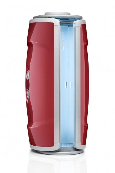 Hapro Heimsolarium Proline 28 V Intensive - Lounge Red, inkl. Lieferung