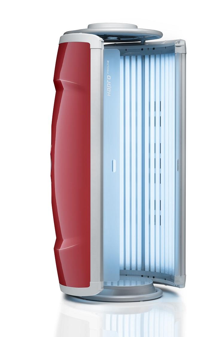 hapro solarium proline 28 v lounge red privatbr uner. Black Bedroom Furniture Sets. Home Design Ideas