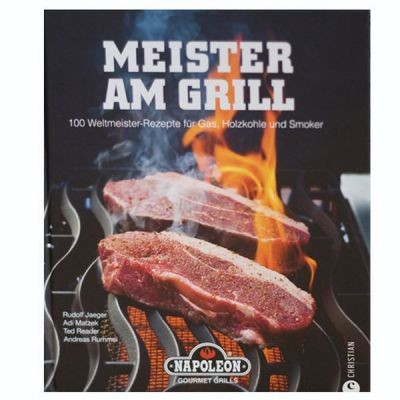 Napoleon   Grillbuch   Meister am Grill   MAG-BOOK-DE