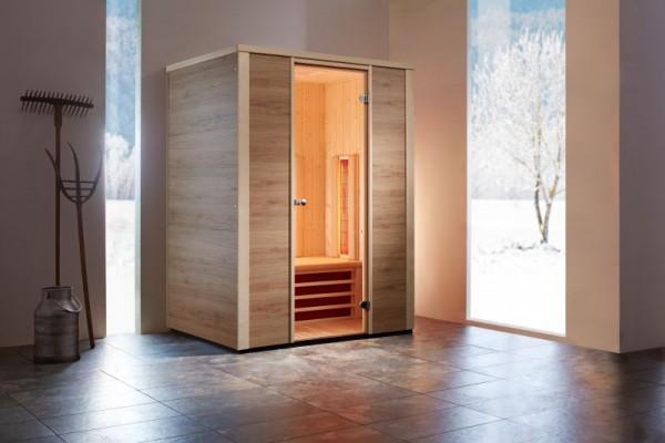 infraworld infrarotkabine triosol zermatt 150 infrarotkabinen saunakabinen sauna. Black Bedroom Furniture Sets. Home Design Ideas
