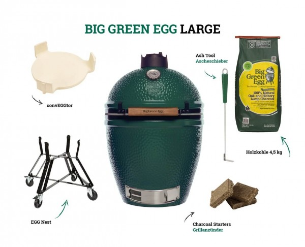 Big Green Egg Kamado Large Starter-Set