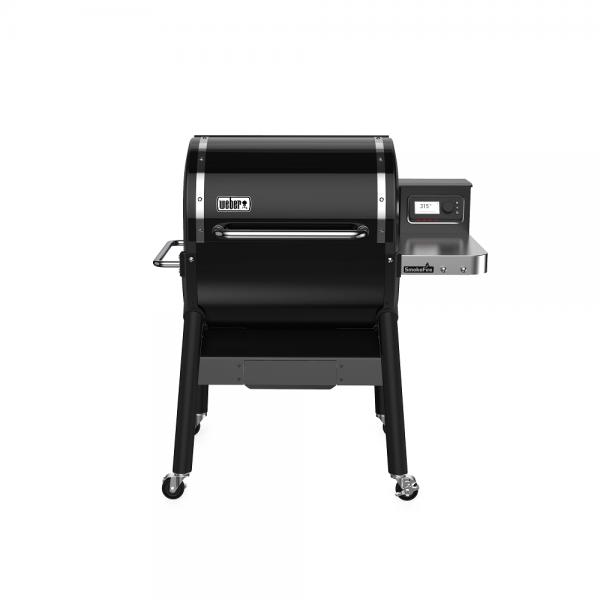 Weber Holzpelletgrill SmokeFire EX4 GBS, Schwarz