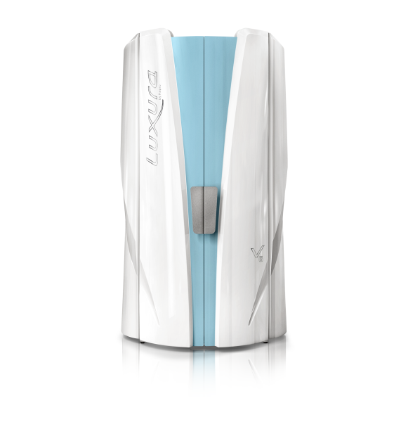 Hapro Profisolarium Luxura V6 (Standbräuner), Crystal White