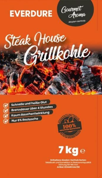 Everdure Steak House Grillkohle Akazien Hartholz 7Kg