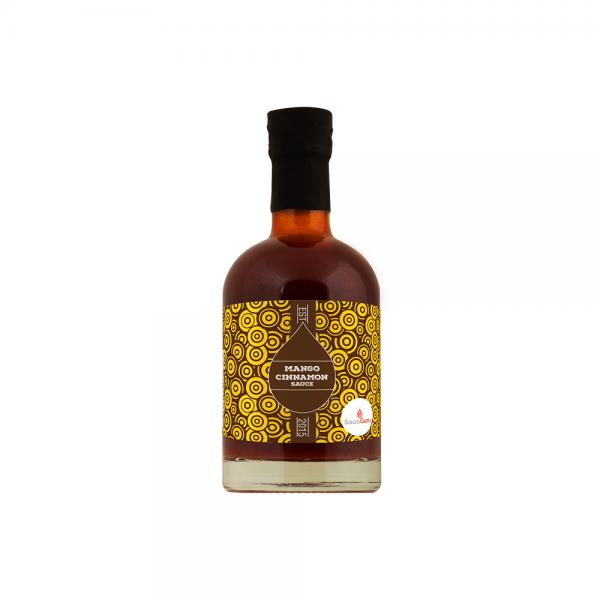 Saus.Guru BBQsc Mango Cinnamon, 245ml Flasche