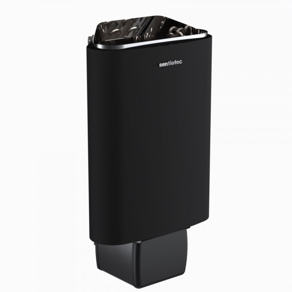 Sentiotec Saunaofen 100 E ohne Steuerung, schwarz. 3,6 kW