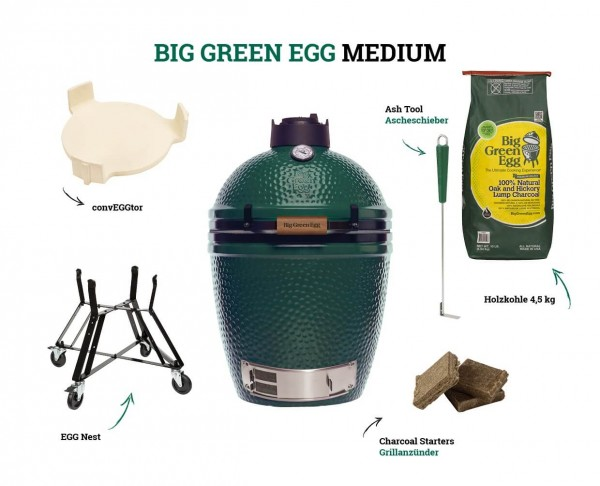 Big Green Egg Kamado Medium Starter-Set