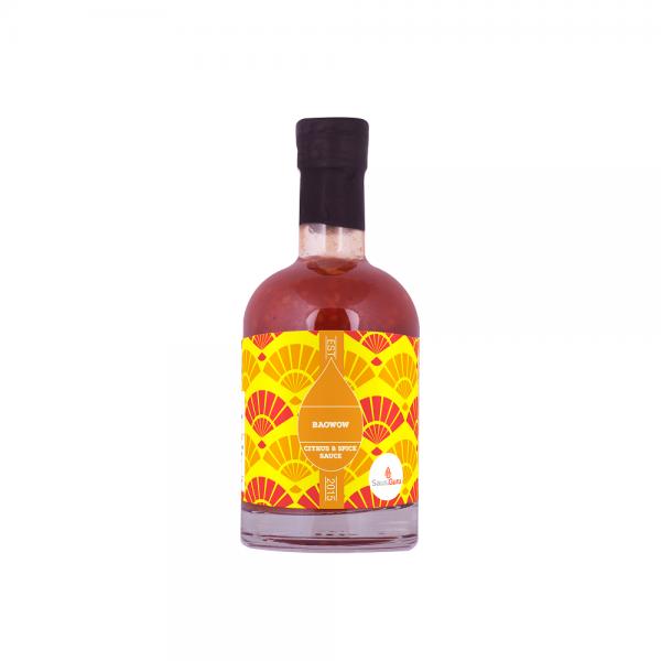 Saus.Guru Asian Connection BaoWoW, 245ml Flasche