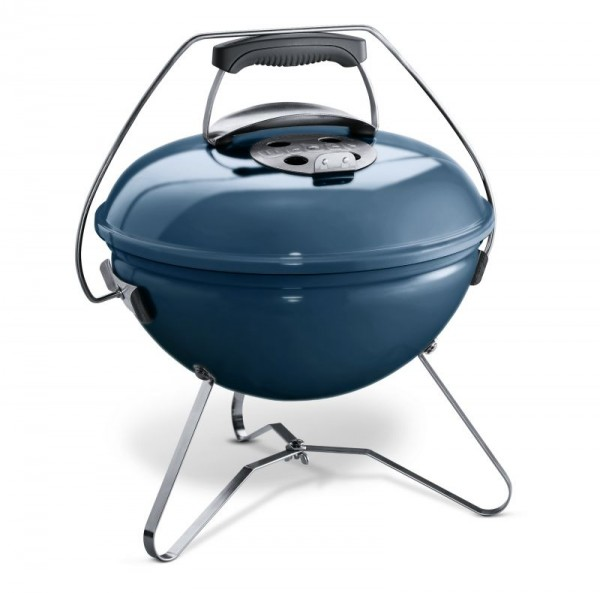 Weber Holzkohlegrill Smokey Joe Premium Ø 37cm - Slate Blue - Nr. 1126804