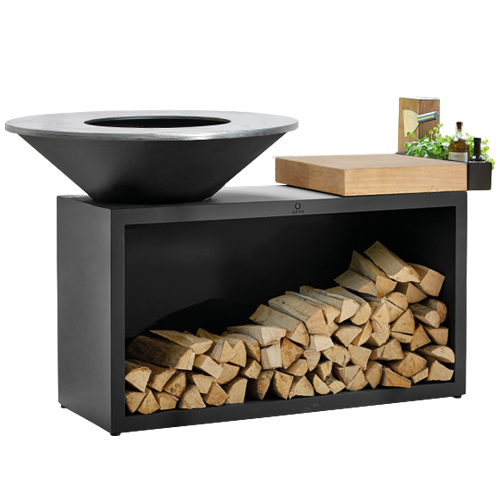 OFYR Island Black 100 Rubberwood