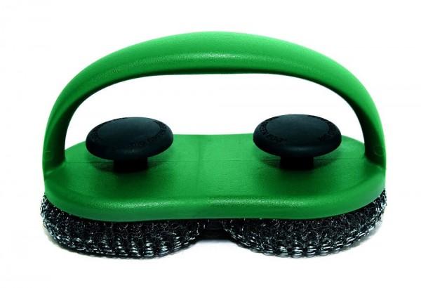 Big Green Egg Dual Brush Grillrostschrubber