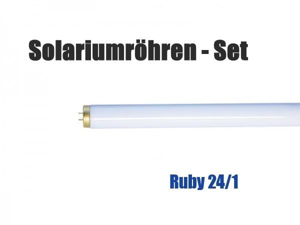 Solariumröhren-Set für Hapro Ruby 24/1