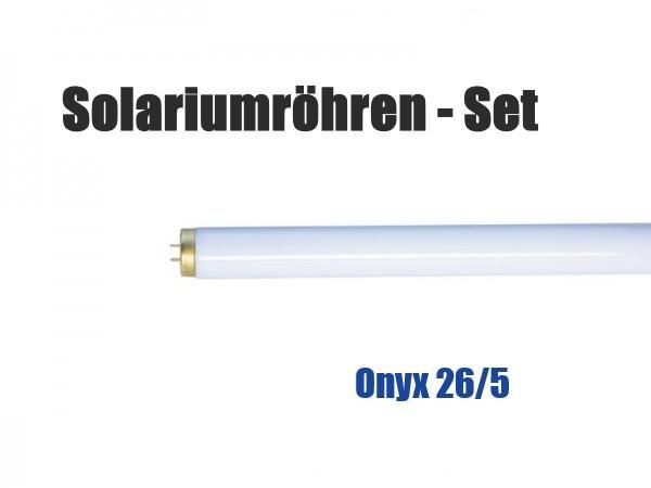 Solariumröhren-Set für Hapro Onyx 26/5