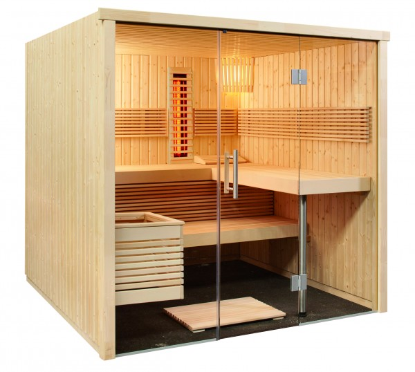 Sentiotec - Elementsauna Panorama Large Infra+ - Nr.: 1-030-310