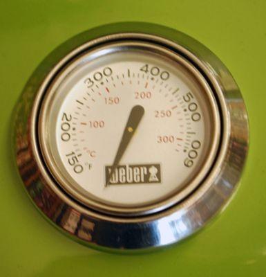 grillthermometer mit rosette deckelthermometer temperaturf hler ersatzteil neu weber. Black Bedroom Furniture Sets. Home Design Ideas