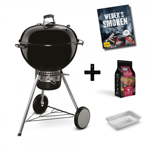 Weber Holzkohlegrill Master-Touch GBS Special Edition Pro inkl. Abdeckhaube Grill -Ø 57 cm- Black -