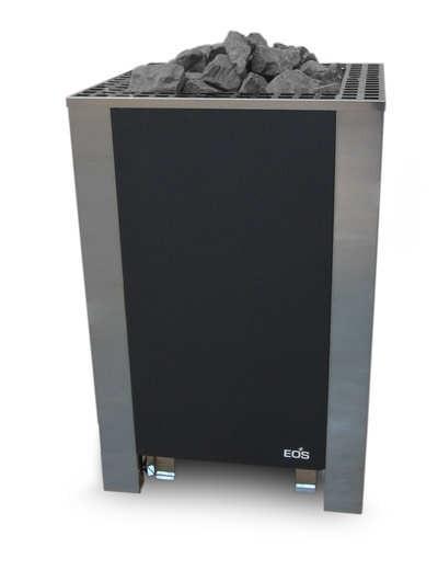 EOS Saunaofen BlackRock (Standausführung), 12 - 18 kW