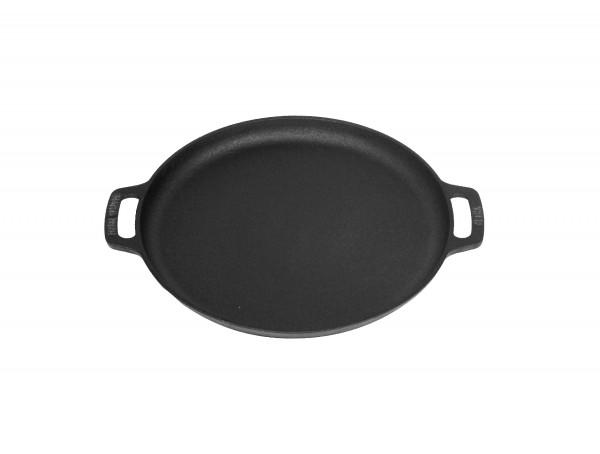 VALHAL Pfanne / Plancha Mit 2 Griffen 35cm schwarz Gusseisen