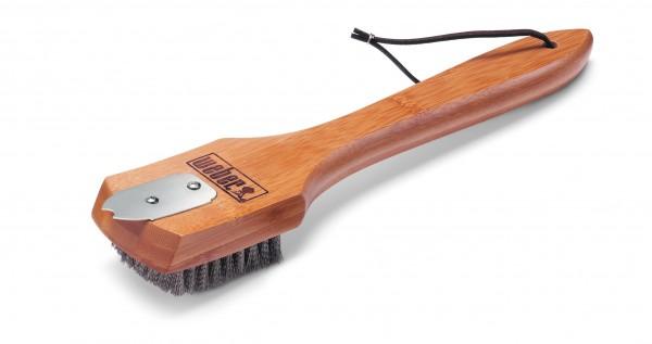 Weber Grillbürste mit Bambus-Holzgriff 30 cm - Nr. 6463