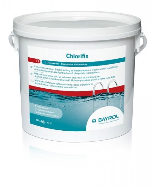 BAYROL Chlorifix Chlorgranulat, 5kg
