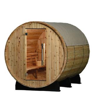 Sentiotec Regenschutz für Fass-Saunen