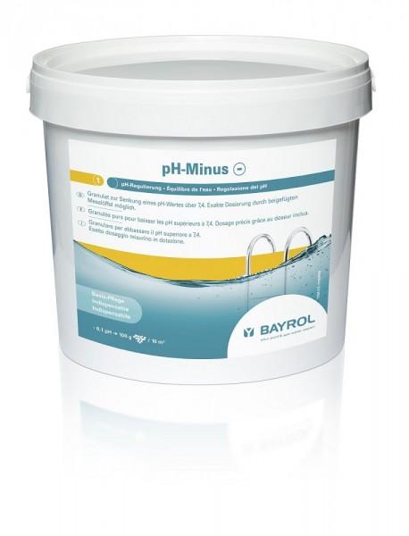 BAYROL pH-Minus Granulat, 6kg Eimer