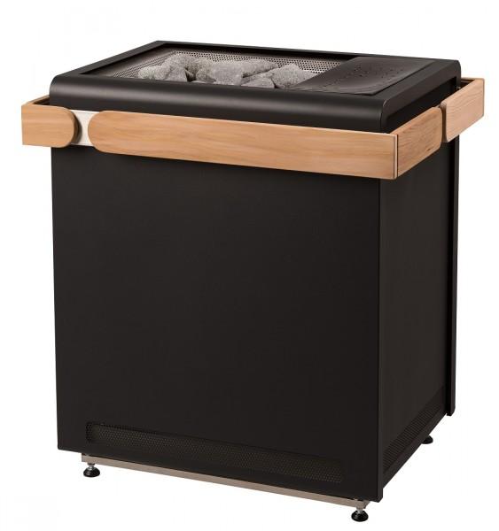 Sentiotec Saunaofen Concept R Combi, black