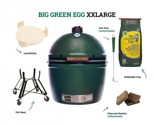 Big Green Egg Kamado 2XL Starter-Set