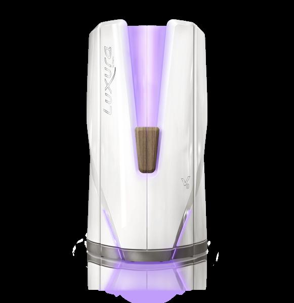 Hapro Profisolarium Luxura V8 (Standbräuner), Crystal White