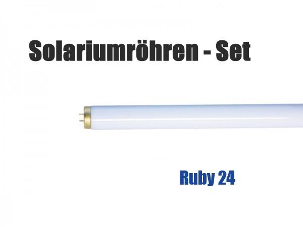 Solariumröhren-Set für Hapro Ruby 24