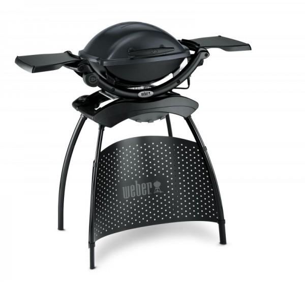 Weber Elektrogrill Q 1400 Stand mit Seitentisch - Dark Grey - Nr. 52020879