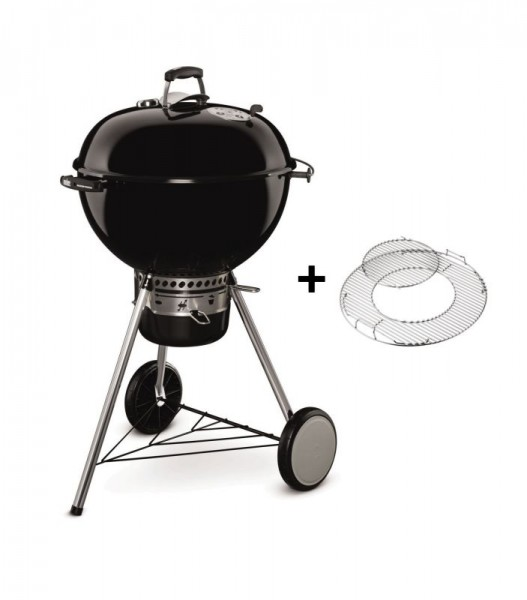 Weber Holzkohlegrill Master-Touch GBS Special Edition Ø 57 cm - Black -