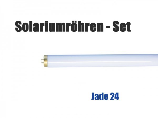 Solariumröhren-Set für Hapro Jade 24