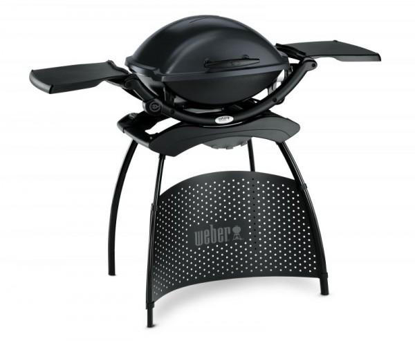 Weber Elektrogrill Q 2400 Stand mit Seitentisch - Dark Grey - Nr. 55020879